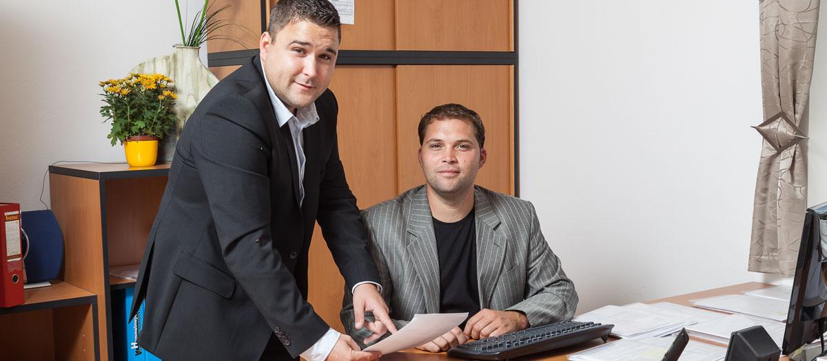 Markus und Christian Hemmelmeyer
